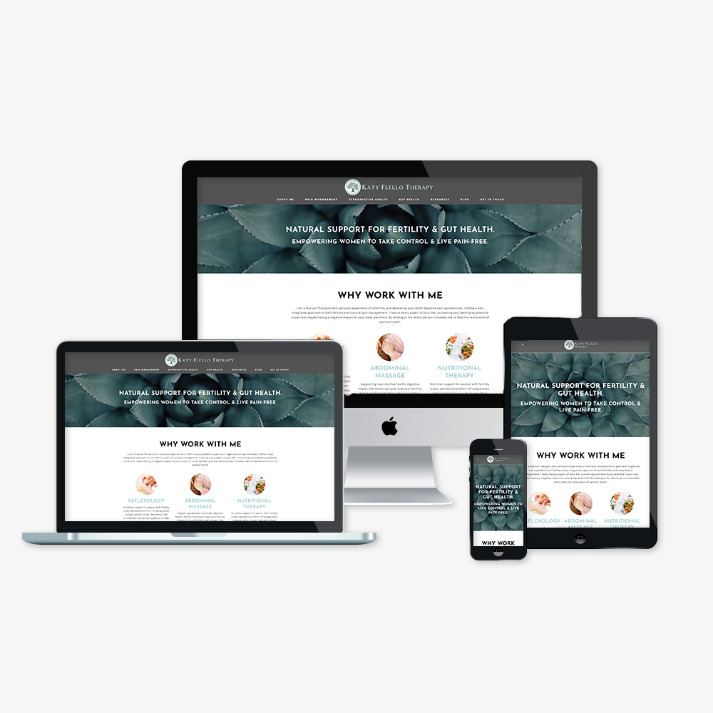 therapy website design