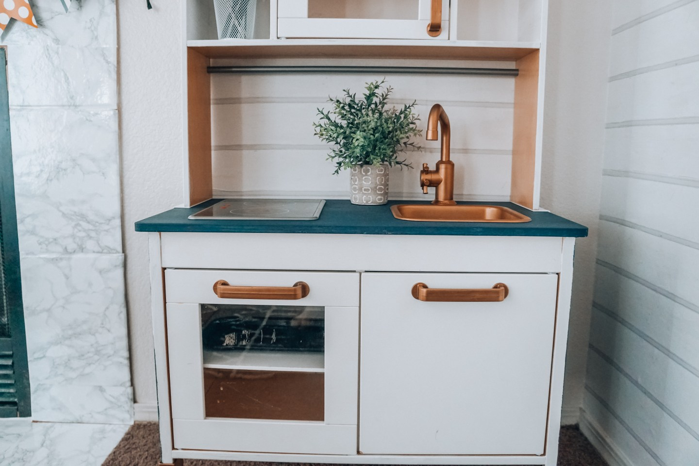 IKEA Kid\'s Kitchen Hack - Collectively Casey
