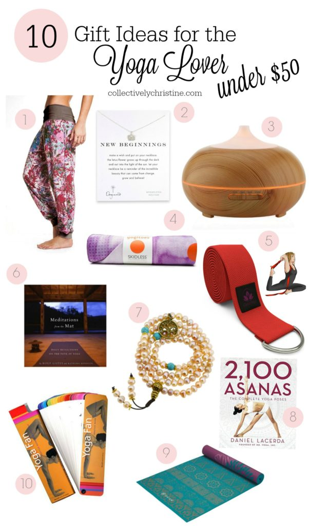 10 Gift Ideas For The Yoga Lover Under 50