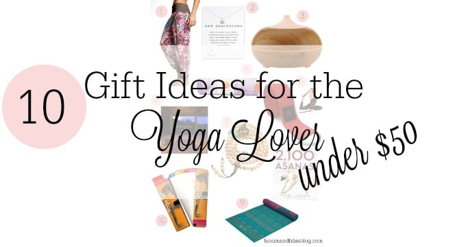 10 Gift Ideas for the Yoga Lover {Under $50}
