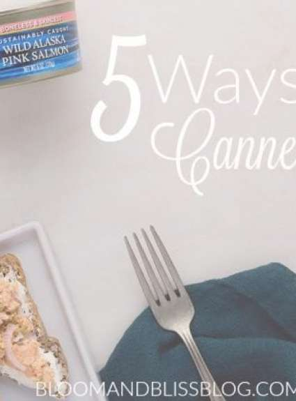 5 Ways to Eat Canned Salmon {+2 Free Cans}