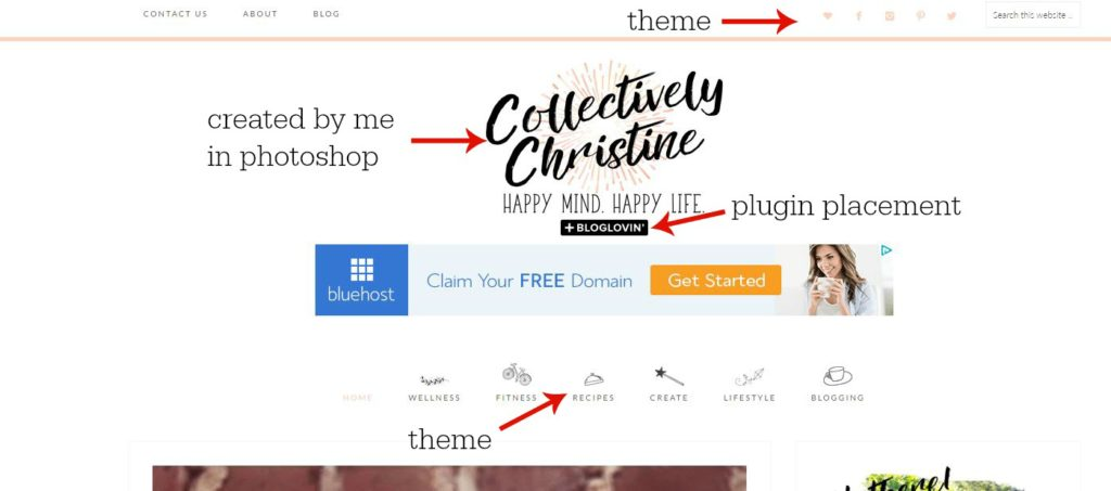 theme setup and how to start a blog