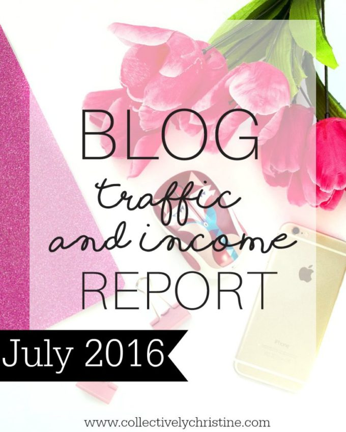 July income Report