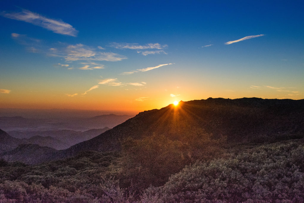 Mount Laguna Sunrise