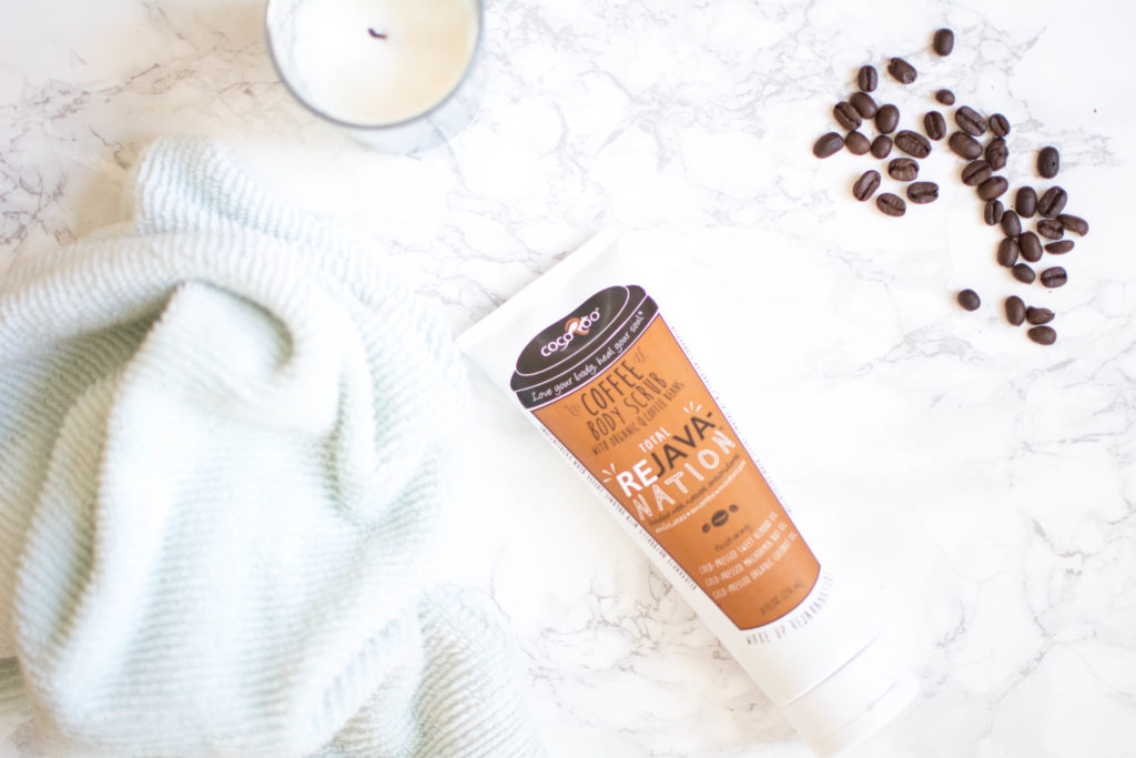 Cocoroo coffee scrub review