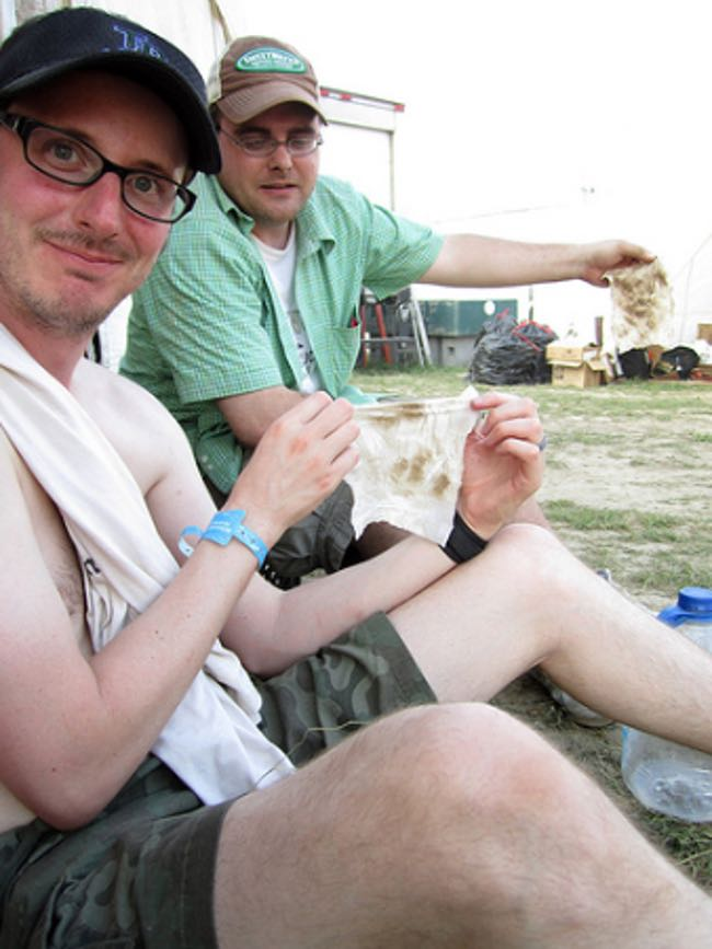 5 Unlikely Items to Pack for a Music Festival. Baby wipes for dirty bodies.
