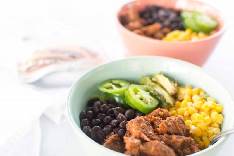 Southwest Steak Taco Bowl