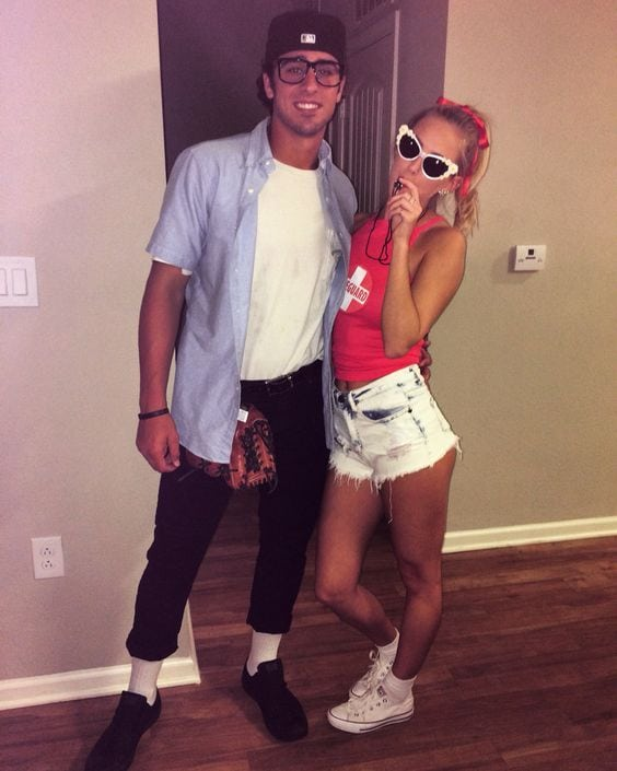 SQUINTS AND WENDY PEPPERCORN COSTUME