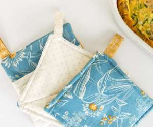 Easy Sew DIY Potholder