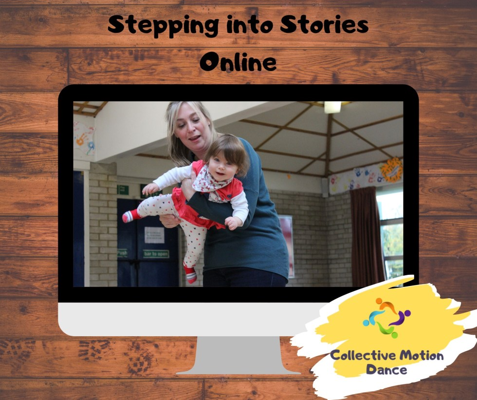 Online Dance and Storytelling Classes for 1 - 4 year olds.