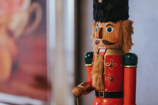 Nutcracker soldier toy