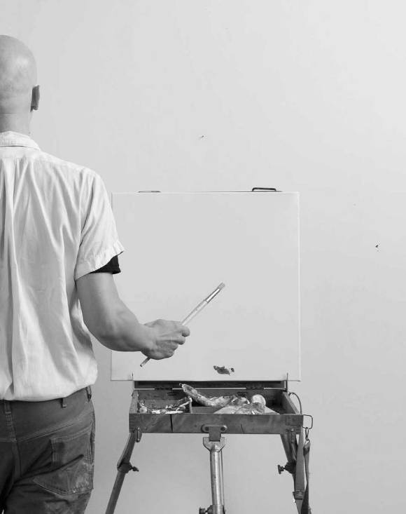 cycle 3 task 04, Klaus Killisch, Lieber Maler, male mir (Dear painter, paint for me)