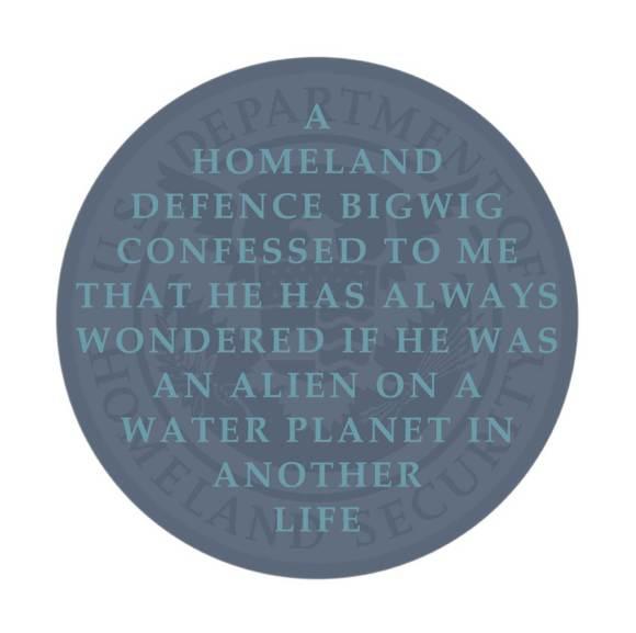 cycle 3 task 05, Suzanne Treister, Badge: 'Homeland Alien'