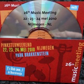29th music meeting Nijmegen