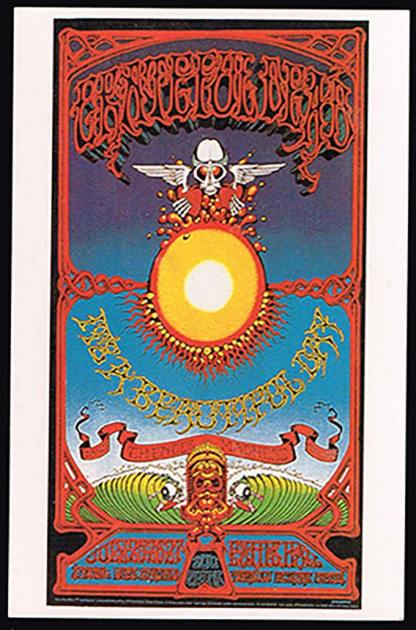 Grateful Dead and It's a beautiful day (Postcard)