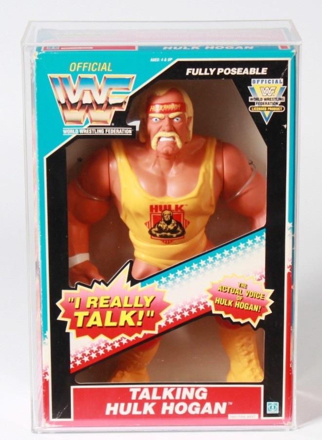 1990 Hasbro Wwf Boxed 12 Inch Talking Action Figure Hulk Hogan