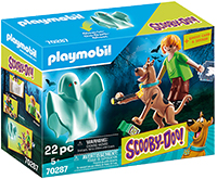playmobil Scooby and Shaggy with Geist