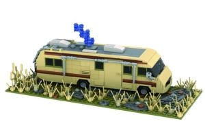 Modbrix - Bausteine Wohnmobil Camper - Crystal Ship aus Breaking Bad