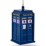 Exclusive Doctor Who TARDIS Lighted Ornament / ThinkGeek