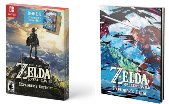 Vorbestellen Usa The Legend Of Zelda Breath Of The Wild