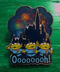 Disney Toy Story Green Aliens Oooooooh! Pin