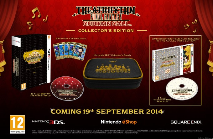 Theatrhythm Final Fantasy Curtain Call Collector S Edition