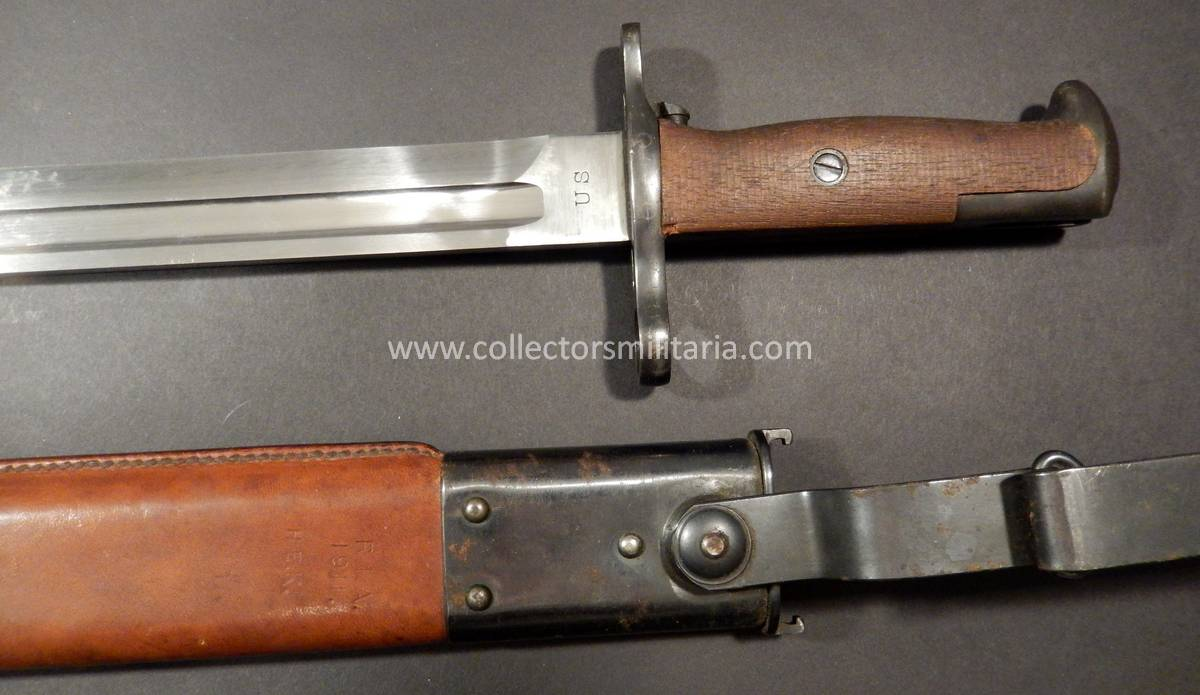 A Super Mint M1905 Bayonet For The 03 Springfield Rifle