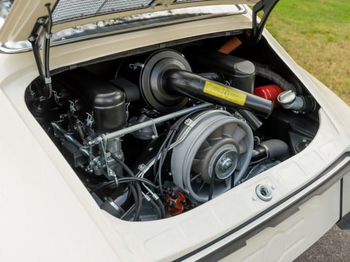 ivory porsche 911 1965 engine