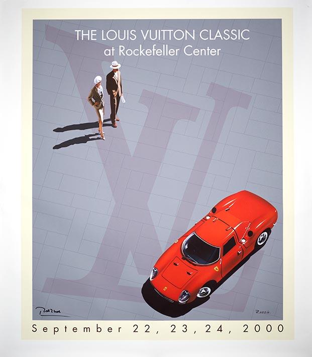 2000 louis vuitton classic rockefeller center poster by razzia