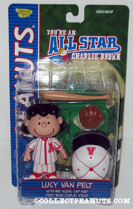 Lucy All-Star Baseball Action Figure