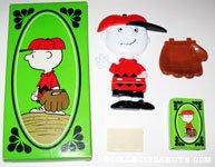 Charlie Brown Baseball Mitt Soap Holder