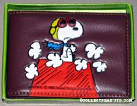 Flying Ace on doghouse Wallet