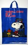 Snoopy & Woodstock in costume 'There will always be an England' Tote Bag