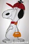 Baseball Snoopy Pajama Bag
