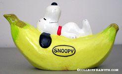 Snoopy on a Banana