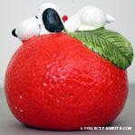 Snoopy on an Orange