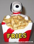 Snoopy in box of Fries