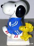 Snoopy & Woodstock jogging Bank