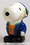 Snoopy with walkman & earphones Bank