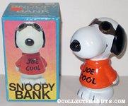 Snoopy Joe Cool Bank