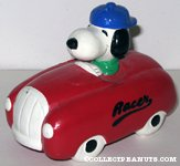 Snoopy in Red Racer