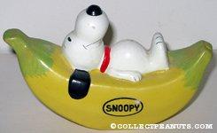 Snoopy on Banana
