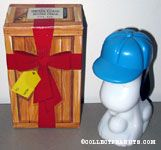 Snoopy wearing blue baseball cap Sports Rally Surprise Package Bracing Lotion