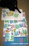 Snoopy & Woodstock laughing 'Ha Ha Ha' Sheets and Pillowcase Set