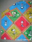 Peanuts Characters in lattice work pattern Pillowcase