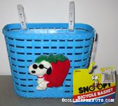 Joe Cool with Strawberry Blue Bicycle Basket