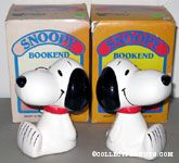 Snoopy Sitting Bookends