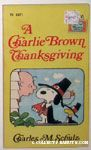 A Charlie Brown Thanksgiving Books