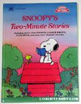 Snoopy's Two-Minute Stories