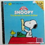 Snoopy The World's Greatest Author